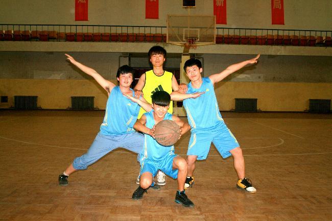 篮球的魅力因我而展现